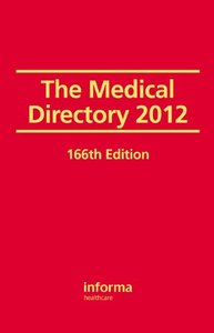 The Medical Directory 2012