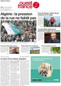 Ouest-France Édition France – 12 juillet 2019
