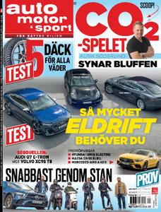 Auto Motor & Sport Sverige – 19 september 2019