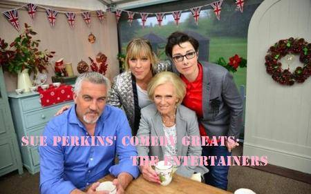 Sue Perkins' Comedy Greats: The Entertainers (2017)