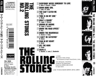 The Rolling Stones - The Rolling Stones No. 2 (1965) [Polydor P25L 25033, Japan]