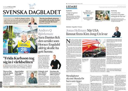 Svenska Dagbladet – 27 februari 2019