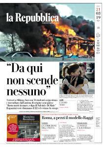la Repubblica - 21 Marzo 2019