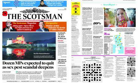 The Scotsman – November 04, 2017