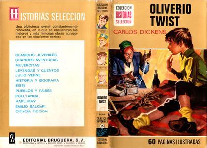 Colección Historias-Selección (Clásicos juveniles) #15 - Oliverio Twist