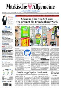 Märkische Allgemeine Luckenwalder Rundschau - 31. August 2019