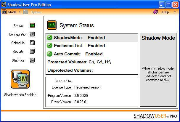 ShadowUser Pro v2.5.0.225 Multilanguage