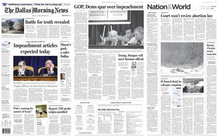 The Dallas Morning News – December 10, 2019