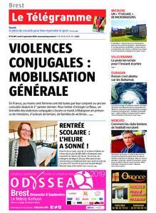 Le Télégramme Brest – 02 septembre 2019
