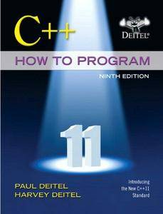 C++ How to Program (9th edition)
