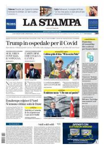 La Stampa Torino Provincia e Canavese - 3 Ottobre 2020