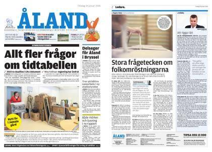 Ålandstidningen – 24 januari 2018