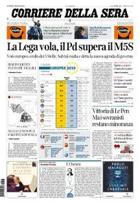 Corriere della Sera – 27 maggio 2019