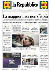 la Repubblica - 13 Gennaio 2021