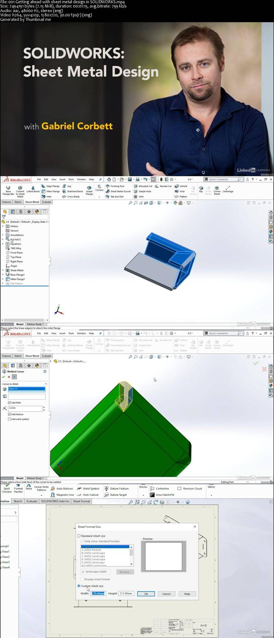 Solidworks Sheet Metal Design Avaxhome