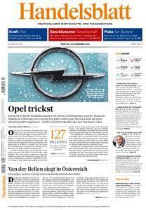 Handelsblatt - 05. Dezember 2016