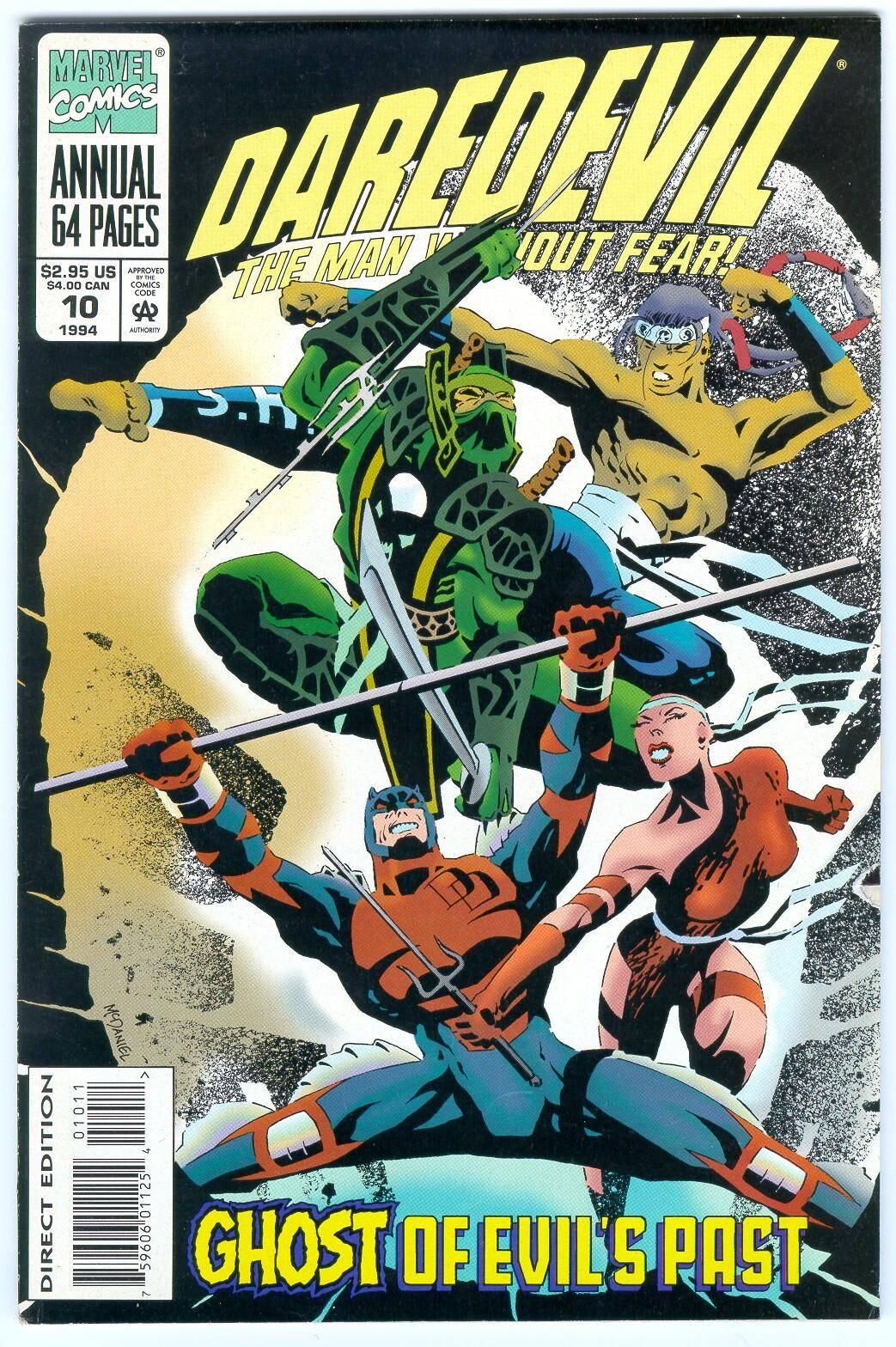 Daredevil v1 Annual 10 1994 Ghost of Evils Past