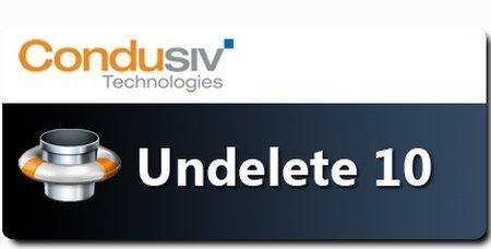 Condusiv Undelete 10 Home / Pro / Server 7.0.205