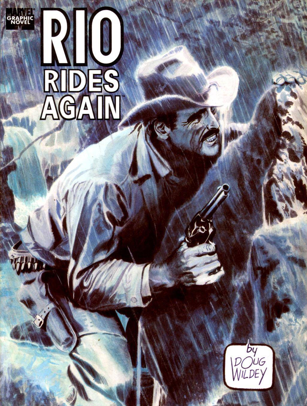 Marvel Graphic Novel 60 - Rio Rides Again 1990