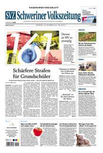 Schweriner Volkszeitung Hagenower Kreisblatt - 15. Oktober 2019
