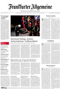 Frankfurter Allgemeine Zeitung F.A.Z. - 24. Januar 2020