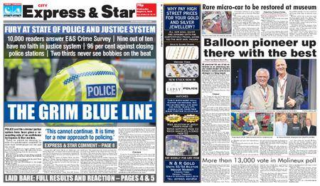 Express and Star City Edition – August 08, 2018