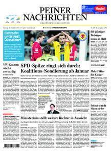 Peiner Nachrichten - 16. Dezember 2017