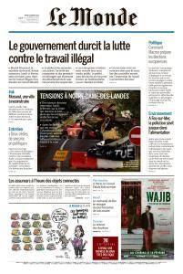 Le Monde du Mardi 13 Février 2018