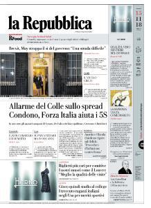 la Repubblica - 15 Novembre 2018