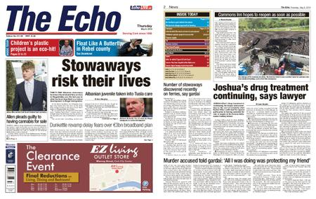 Evening Echo – May 09, 2019