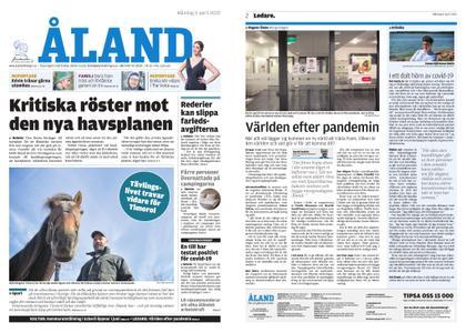 Ålandstidningen – 06 april 2020
