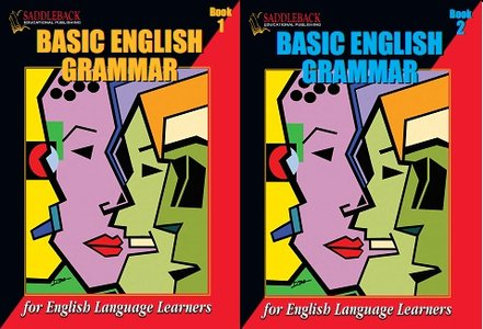 Basic English Grammar: For English Language Learners (Book 2 and Book 1)