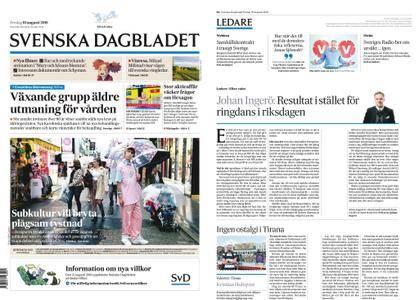 Svenska Dagbladet – 10 augusti 2018