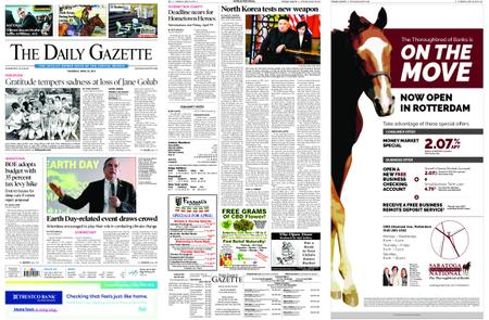 The Daily Gazette – April 18, 2019