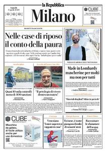 la Repubblica Milano - 6 Aprile 2020
