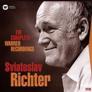 Sviatoslav Richter - The Complete Warner Recordings (2016) (24CDs Box Set) {Warner Classics}