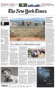 International New York Times - 4 October 2018