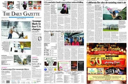 The Daily Gazette – November 17, 2018