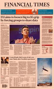 Financial Times Europe – 20 February 2020