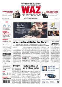 WAZ Westdeutsche Allgemeine Zeitung Oberhausen-Sterkrade - 27. Januar 2018