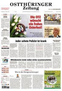 Ostthüringer Zeitung Greiz - 31. März 2018