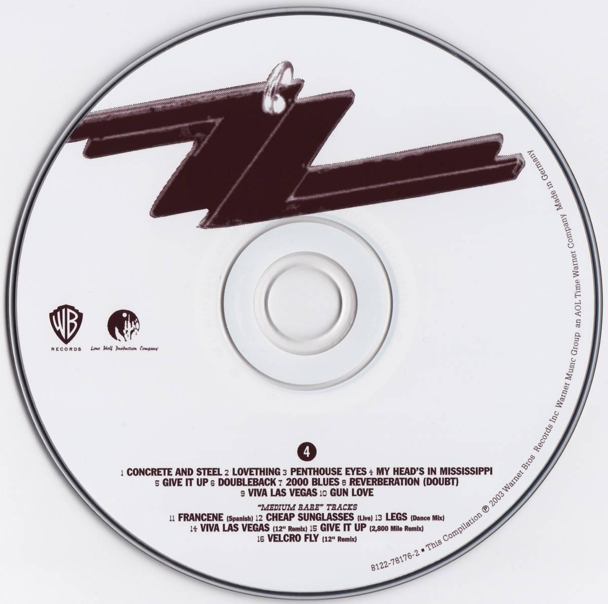 ZZ Top - Chrome Smoke & BBQ: The ZZ Top Box (2003) 4 CD