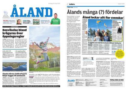 Ålandstidningen – 20 maj 2020