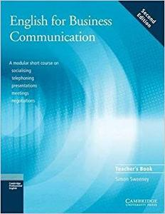 English for Business Communication Teacher's Book (Repost)