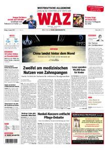 WAZ Westdeutsche Allgemeine Zeitung Oberhausen-Sterkrade - 04. Januar 2019