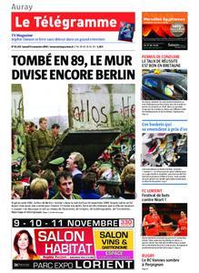 Le Télégramme Auray – 09 novembre 2019