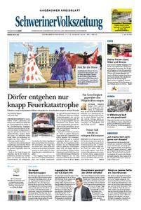 Schweriner Volkszeitung Hagenower Kreisblatt - 11. August 2018
