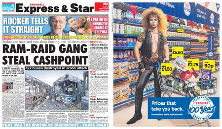 Express and Star Sandwell Edition – January 26, 2019