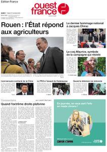 Ouest-France Édition France – 01 octobre 2019