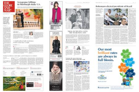 The Globe and Mail – October 29, 2018